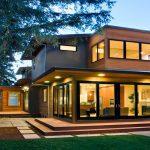 ترکیب متریال های مختلف برای نمای ساختمان