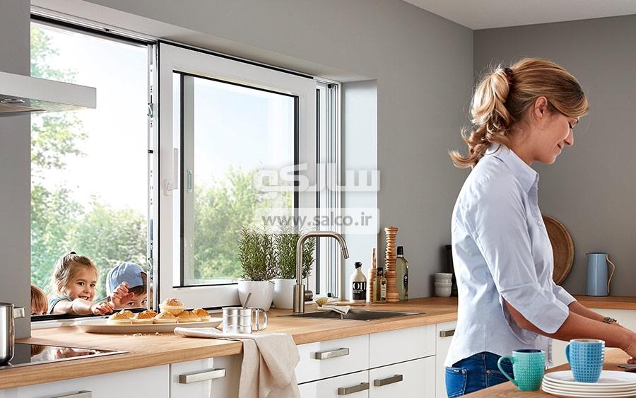 پنجره کشویی بهتره است یا پنجره لولایی